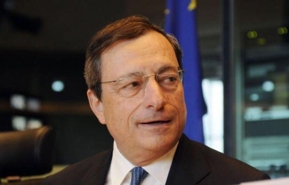 Tous les yeux seront braqués jeudi en début d'après-midi sur la Banque centrale européenne (BCE) qui a soulevé des attentes énormes de la part des marchés sur une action d'envergure. – Thierry Charlier afp.com