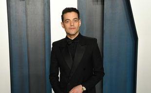 L'acteur Rami Malek à la soirée Vanity Fair post-Oscars
