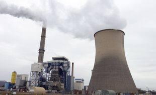 La centrale gaz-charbon de Saint-Avold en Moselle.