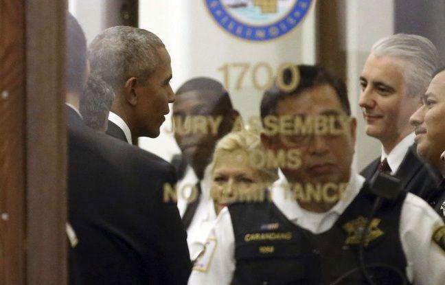 nouvel ordre mondial | Convoqué comme juré, le citoyen ordinaire Barack Obama fait sensation au tribunal