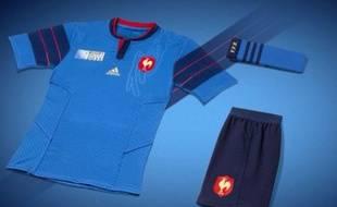 Les Bleus porteront cet ensemble lors de la Coupe du monde de rugby.