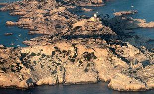 L'archipel du Frioul à Marseille.
