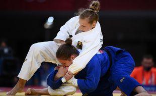 La judokate allemande, Kayra Martyna Trajdos.