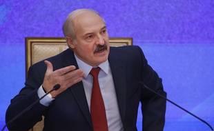Le président Alexandre Loukachenko, à Minsk, au Belarus, le 29 janvier 2015.