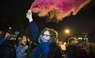 Manifestation contre l'avortement en Pologne