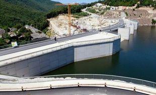Le plus grand barrage hydroélectrique de Corse, d'une puissance de 55 MW, a été inauguré lundi sur le site du Rizzanese (Corse-du-Sud) par le PDG d'EDF Henri Proglio.