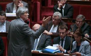 Le ministre de l'Agriculture Stéphane Le Foll à l'Assemblée nationale, le 21 octobre 2015, à Paris