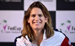 Amélie Mauresmo a été nommée à la tête de l'équipe de France de Coupe Davis