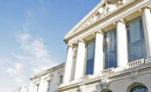 Le palais de justice de Nice