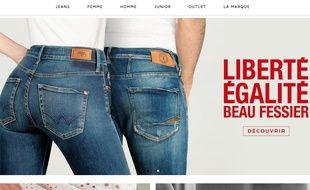 La campagne publicitaire de la marque de prêt-à-porter Le temps des cerises, jugée sexiste