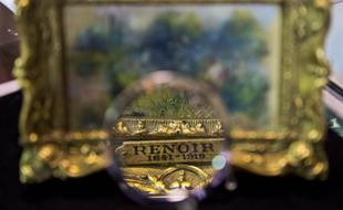 Un petit tableau d'Auguste Renoir intitulé