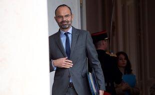 Edouard Philippe à l'Elysée, le 21 octobre 2019.