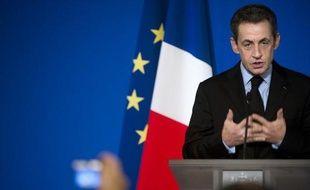"""Nicolas Sarkozy prononce jeudi en fin de journée à Toulon (sud-est) un """"grand discours"""" sur l'avenir de l'Europe, au moment où Paris poursuit d'intenses tractations avec l'Allemagne pour tenter d'éviter une propagation dramatique de la crise de la dette."""