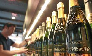 Le Crémant d'Alsace a battu un nouveau record de vente.