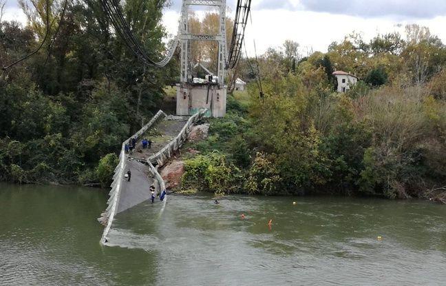 Haute-Garonne : Le pont de Mirepoix-sur-Tarn sera reconstruit pour 20 millions d'euros minimum