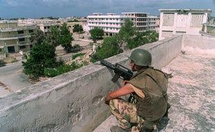 Mogadiscio en Somalie.