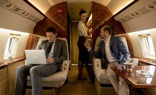 Alex Godman (James Norton) et son oncle, Boris Godman (David Dencik), dans la série «McMafia».