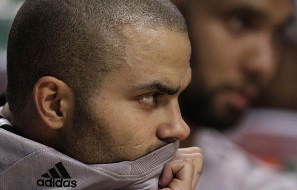 Le meneur de jeu des San Antonio Spurs, Tony Parker, le 18 février 2011, à Chicago. – J.GRESS/REUTERS