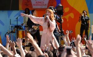 Florence and the Machine en concert à New York le 29 juin dernier.