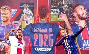 Neymar reste au PSG
