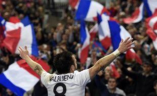 Valbuena lors de la victoire de la France face à la Norvège 4-0, le 27 mai 2014.
