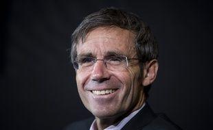 David Pujadas pendant la conference « Presidentielle : on refait le match ! » àl'Opera Garnier le 24 septembre 2017.
