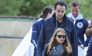 L'actrice Mary-Kate Olsen et Olivier Sarkozy, en 2019