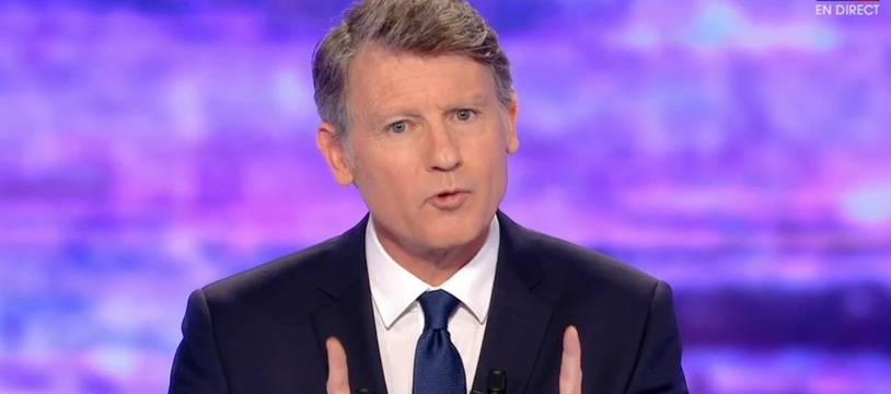 Vincent Peillon, lors du premier débat, jeudi 12 janvier.