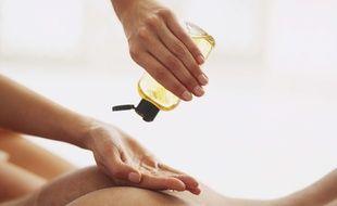 Un massage à l'huile