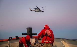 Proactiva Open Arms a repris fin novembre 2018, avec deux autres bateaux d'ONG, ses missions de sauvetage au large de la Libye