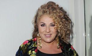 La chanteuse et comédienne Marianne James.