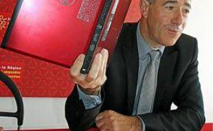 Christian Bourquin, président PS du conseil régional, lors de la présentation de LoRdi en avril.