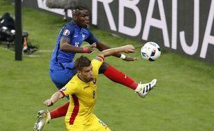 Pogba a été décevant contre la Roumanie.