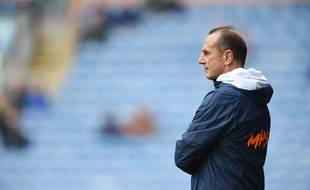 Michel Der Zakarian, l'entraîneur du Montpellier Hérault Sporting Club.