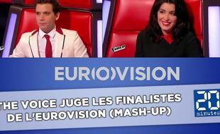 Mika et Jenifer livrent leur ressenti sur les candidats à l'Eurovision.