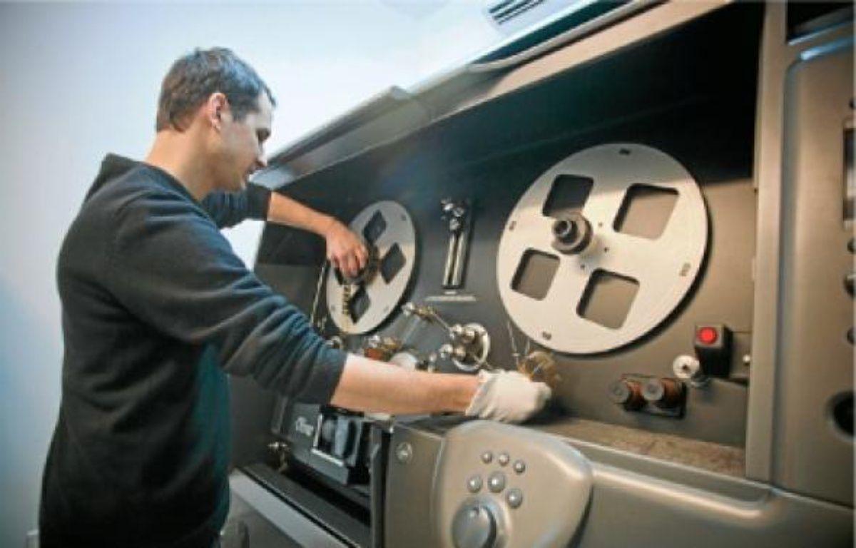 Les vieilles bobines seront numérisées puis réexploitées. –  V. WARTNER / 20 MINUTES
