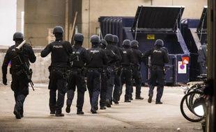 Des forces spéciales de la police danoise à Copenhague lors des attentats de février 2015