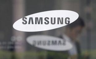 Samsung va lancer une télévision qui peut se mettre en position horizontale (illustration).