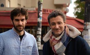 Le réalisateur Diego Governatori (à g.) et son ami Aurélien Deschamps.