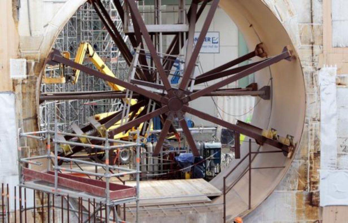 La sirène de la centrale nucléaire de Flamanville, où un troisième réacteur est en construction, était peu voire pas audible du bourg, a constaté jeudi matin un correspondant de l'AFP lors d'un exercice de crise. – Kenzo Tribouillard afp.com