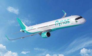 La compganie low cost saoudienne Flynas a commandé 10 A321.