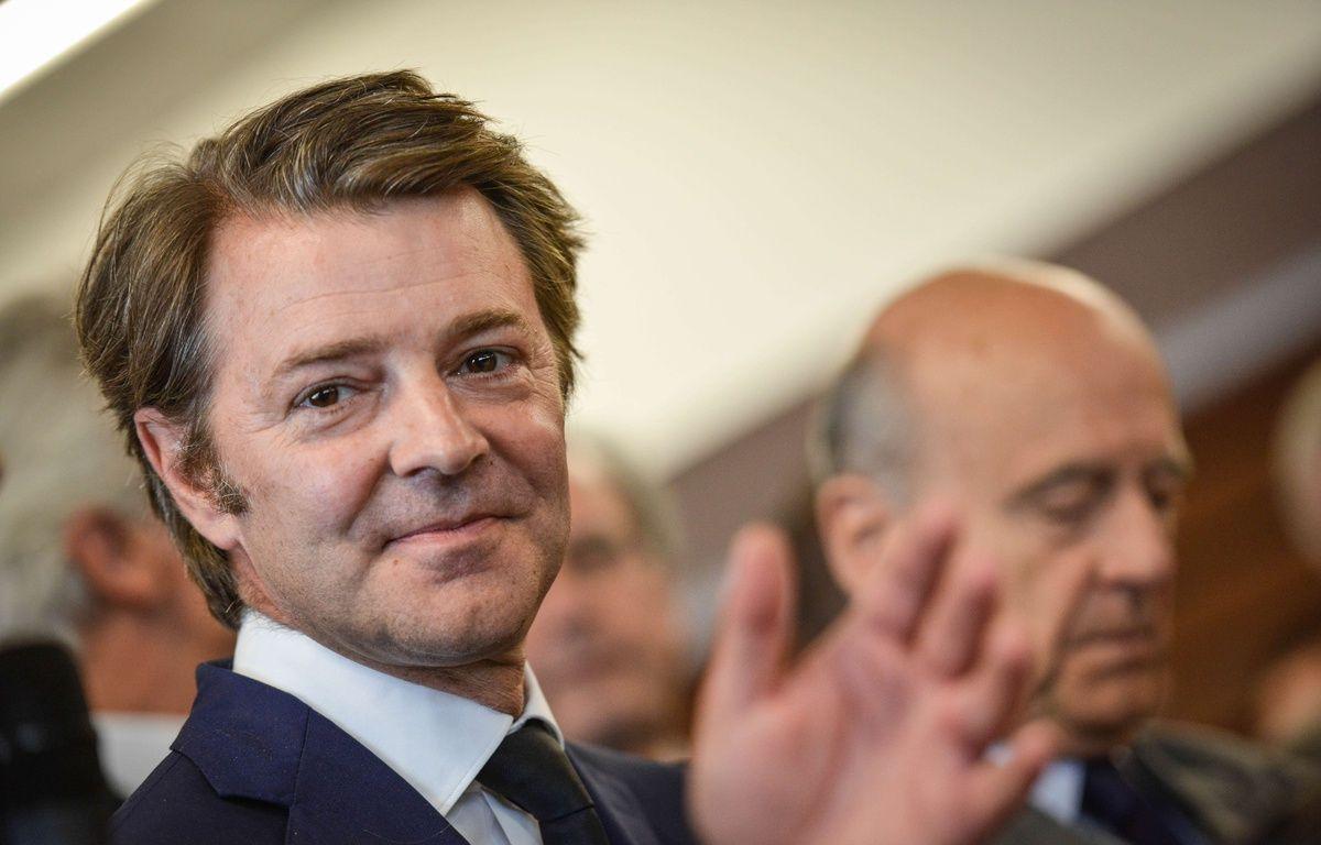 François Baroin auprès d'Alain Juppé – UGO AMEZ