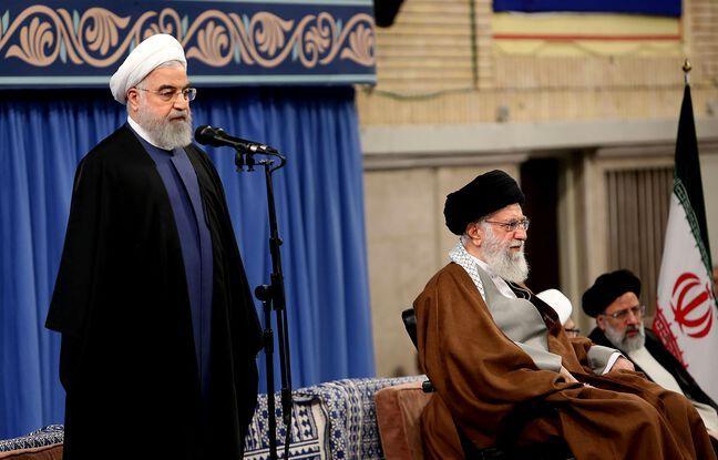 648x415 president iranien hassan rohani gauche guide supreme ali khamenei droite