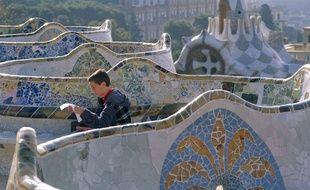 A l'image du parc Güell réalisé par Gaudi à Barcelone, Rennes aura bientôt son parc en mosaïque.