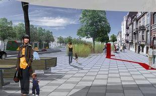 Le grand boulevard en 2050?