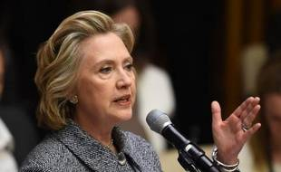 Hillary Clinton au siège des Nations Unies à New York, le 10 mars 2015