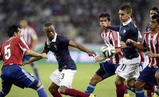 L'attaquant de l'équipe de France Antoine Griezmann, le 1er juin 2014 à Nice contre le Paraguay.
