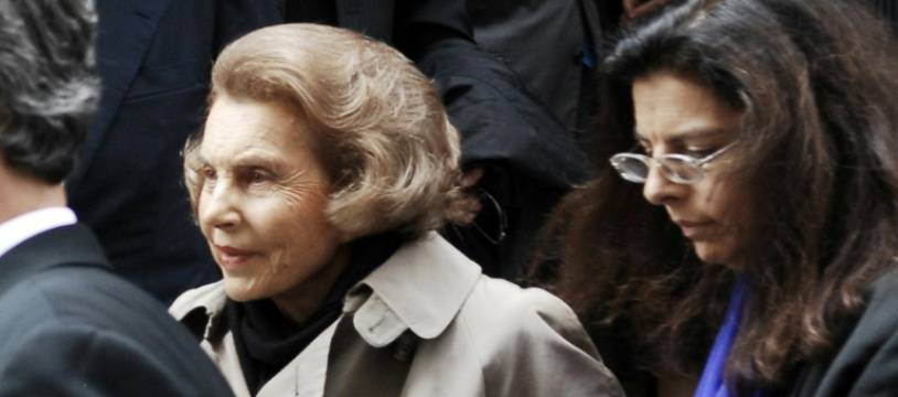 Liliane Bettencourt et sa fille Francoise Bettencourt Meyers le 6 juillet 2007 à Paris
