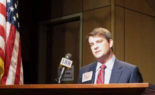 Le représentant élu de la Louisiane, Luke Letlow, cet été.