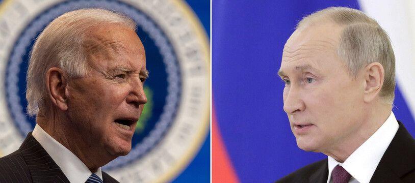 Joe Biden et Vladimir Poutine (illustration).